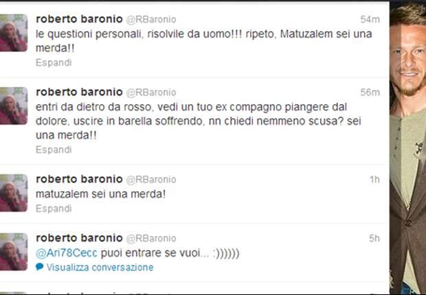 Il famoso tweet di Baronio