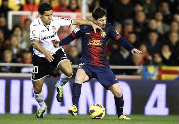 Barça ontsnapt met gelijkspel in Mestalla