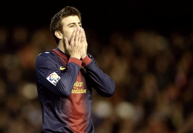 Pique: Maybe Barcelona isn't as good as people say