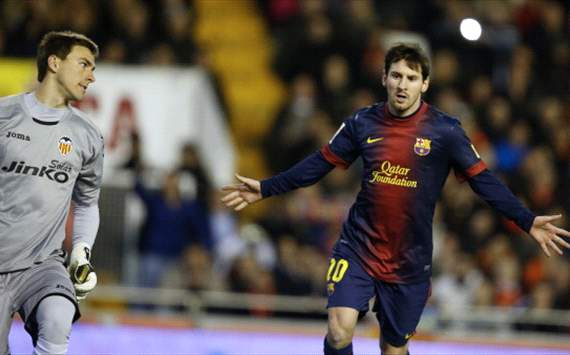 Messi penalty denies vibrant Valencia