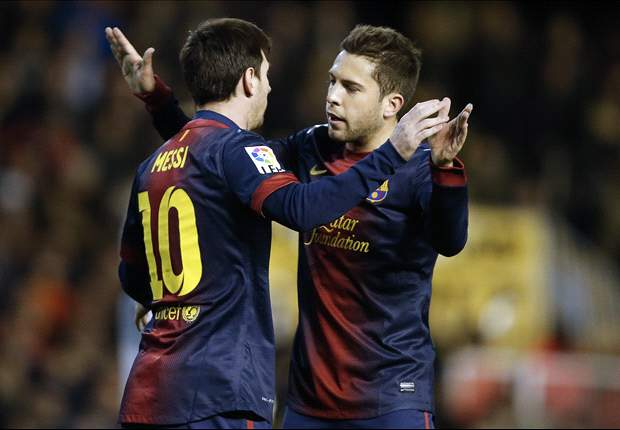 Jordi Alba: Barcelona must wrap up La Liga as soon as possible