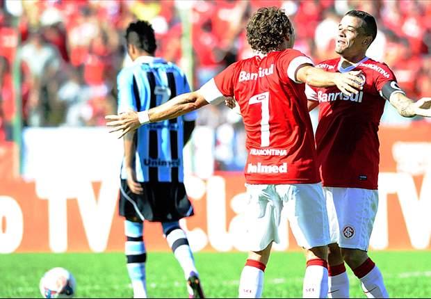 Inter 2 x 1 Grêmio: No primeiro Gre-Nal de 2013, Forlán faz a diferença
