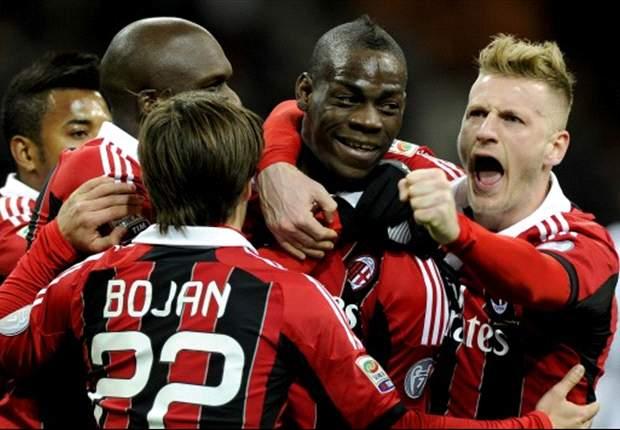 Lo que dejó la jornada 23 de la Serie A: Gana Juventus, presiona Napoli y Balotelli debuta con doblete