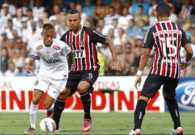 Santos 3 x 1 São Paulo: Santistas vibram duplamente com vitória no retorno de Ganso à Vila