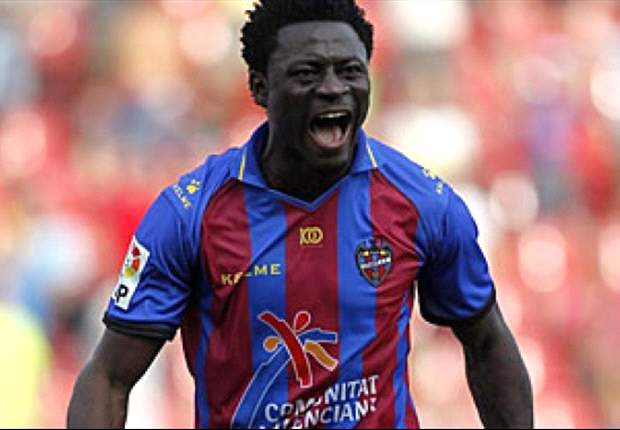Former Newcastle striker Martins announces Seattle deal after Levante exit