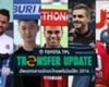TPL Transfers : อัพเดทตลาดนักเตะไทยพรีเมียร์ลีก 2016 (เลกแรก)