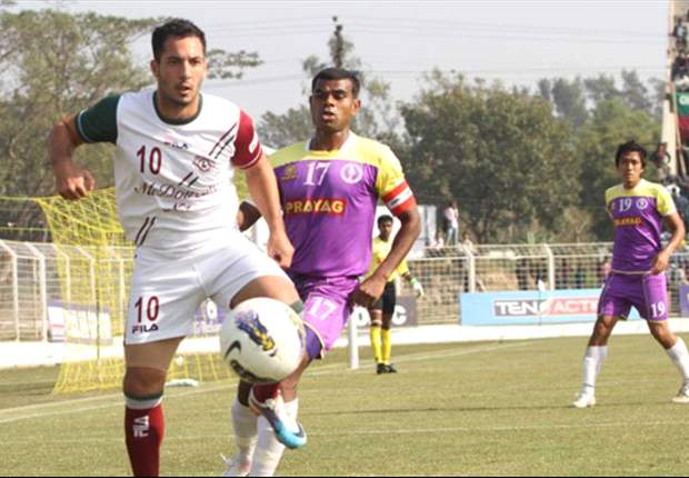 Prayag United 1-1 Mohun Bagan: Ranti Martins' late strike denies Bagan all three points