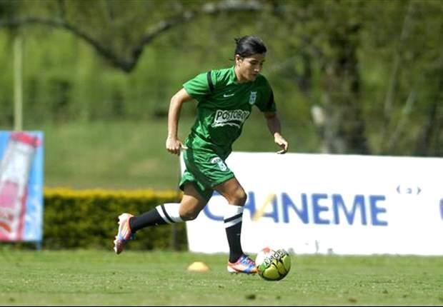 Sherman Cárdenas, y su deseo de éxito en Atlético Nacional