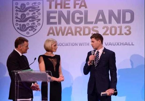 La FA incorona Gerrard 'Giocatore dell'anno 2012': è ancora lui il giocatore più determinante della nazionale inglese
