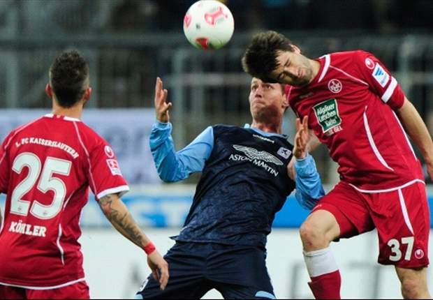 Riedel rettet Kaiserslautern: Kiraly patzt und 1860 München verliert