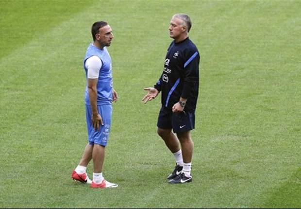"""EdF - Ribery :""""J'ai retrouvé le plaisir de jouer pour les Bleus"""""""