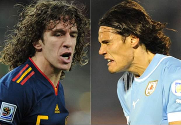 PRÉVIA: Espanha e Uruguai fazem duelo de campeões continentais no Qatar