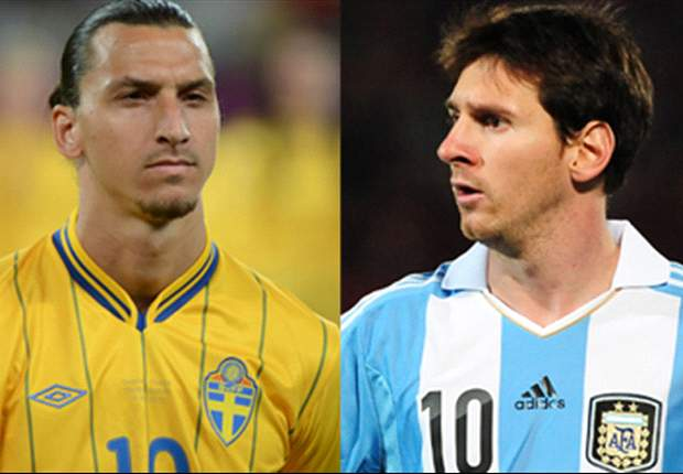 Erik Hamren: Zlatan Ibrahimovic & Lionel Messi Mirip Di Video Game