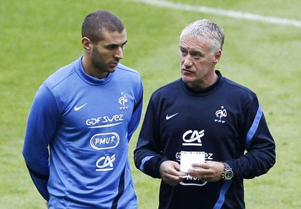 Deschamps: I have faith in Benzema