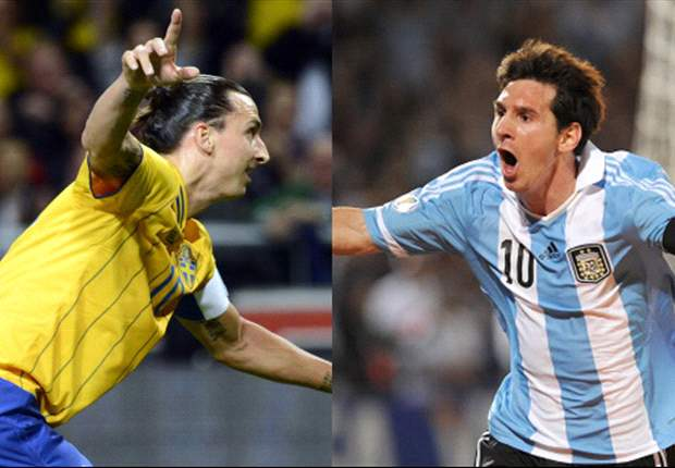 TEAM NEWS: Messi & Zlatan lead attacks as Sweden host Argentina