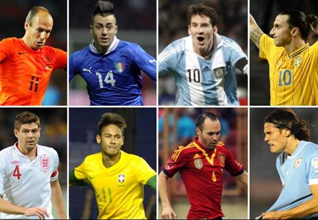 Previa: Amistosos Fecha FIFA del 6 de febrero del 2013