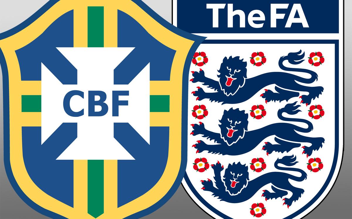 Brasil x Inglaterra: top 5 momentos