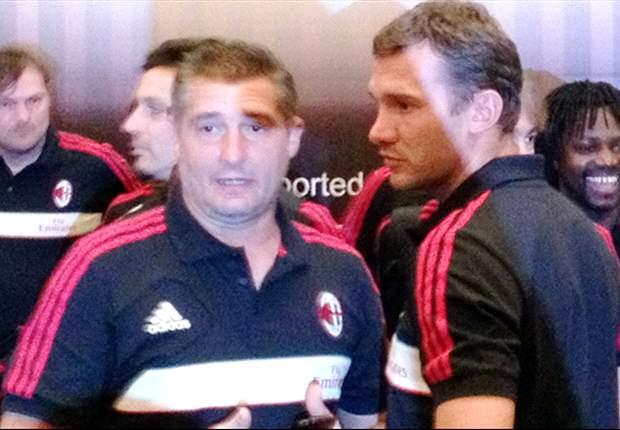 Daniele Massaro Wakili Milan Glorie Di Sesi Coaching Clinic