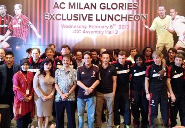 AC Milan Glorie telah hadir di Jakarta