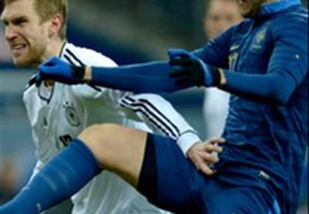 Duitsland oefent nipt langs Frankrijk