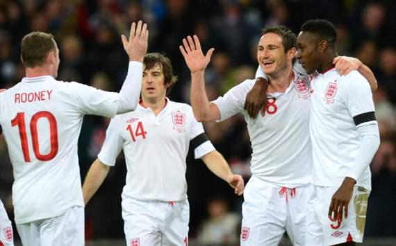 festejo Inglaterra vs Brasil
