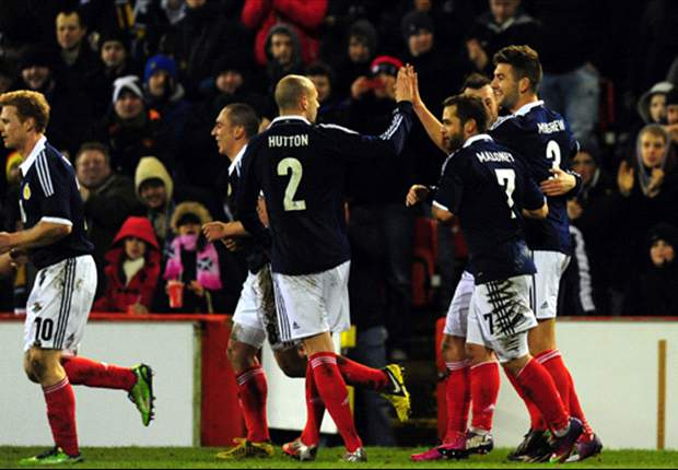 Scotland 1-0 Estonia: Mulgrew secures first victory for Strachan
