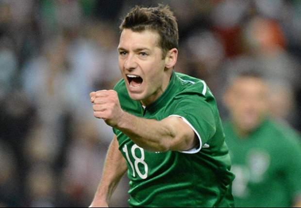 Norwich City midfielder Wes Hoolahan happy with Ireland goal