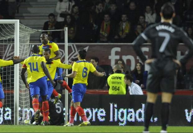Ecuador sorprendió a Portugal