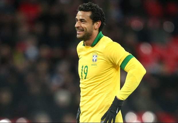 Em nova fase na Seleção, Fred faz elogios a Luiz Felipe Scolari