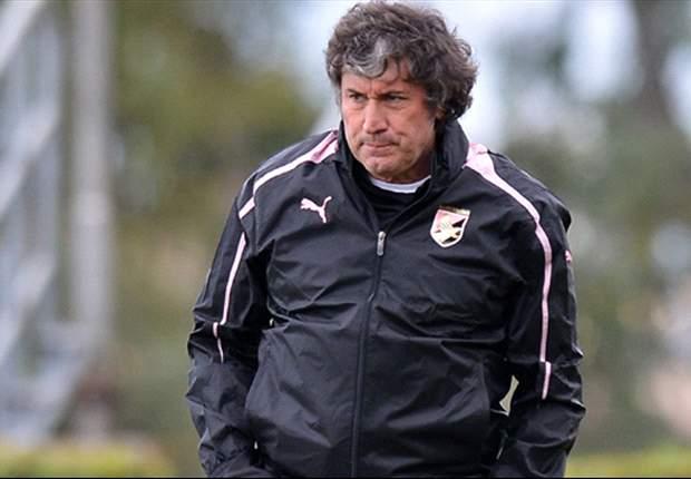 """Il Palermo riparte da Malesani: """"Col Pescara gara da non fallire, la squadra vuole rompere l'incantesimo"""""""