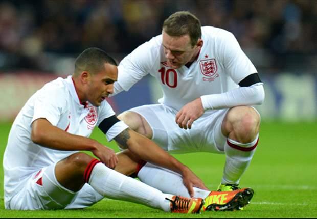 Inglaterra: Treinador faz elogios a Walcott e Wilshere contra o Brasil