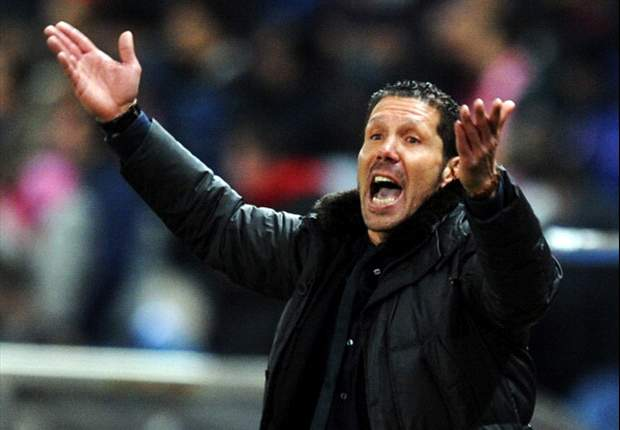 Atletico Madrid await Barcelona - Simeone