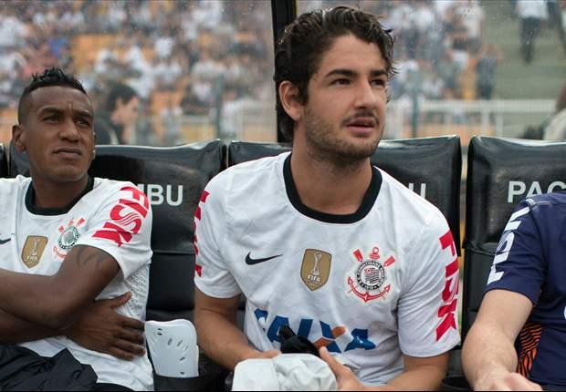 Sem marcar, Pato mira duelo contra o Palmeiras