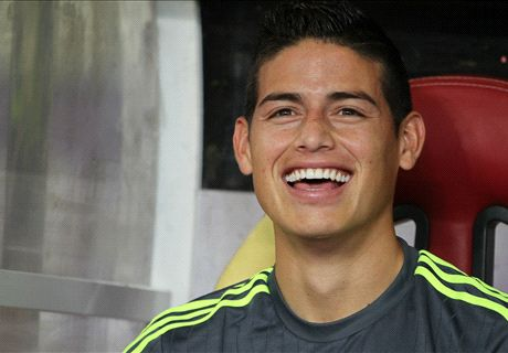 RUMOURS: Madrid consider James exit