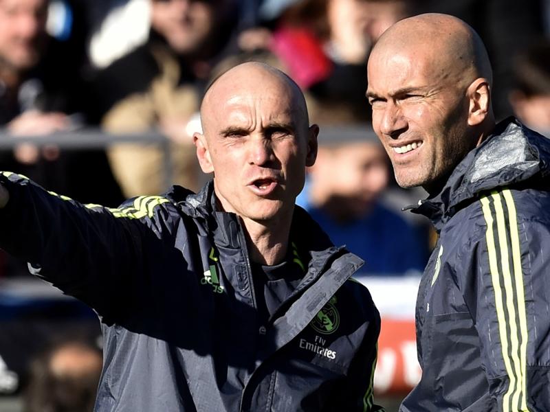 Real Madrid, l'assistant de Zidane disqualifié par la Fédération espagnole