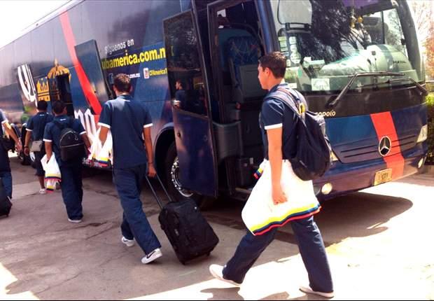 América ya viaja a Tijuana para el duelo ante Xolos