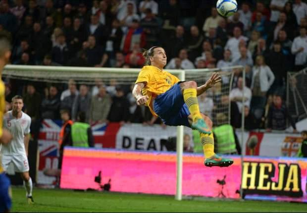 El golazo de Zlatan frente a Inglaterra es gran candidato a ganar.