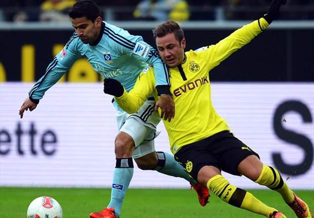Borussia Dortmund 1-4 Hamburger SV: El Dortmund se complica la liga en casa