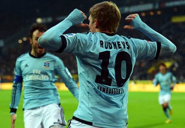 Borussia Dortmund 1-4 Hamburg: Lewandowski dismissed as champions crash to defeat