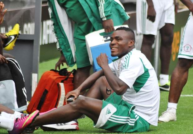 Emmanuel Emenike sat out Saturday's training