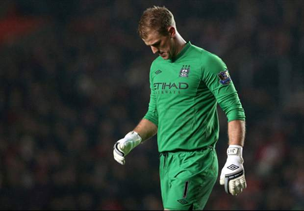 My season with Manchester City has not been brilliant, admits Hart