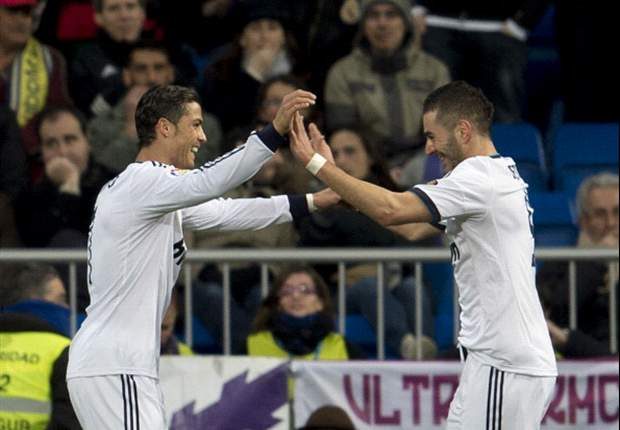 Karim Benzemá anotó su gol número 50 en la liga española