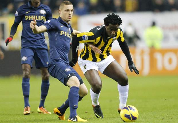 Wilfried Bony Rusak Pesta PSV Eindhoven