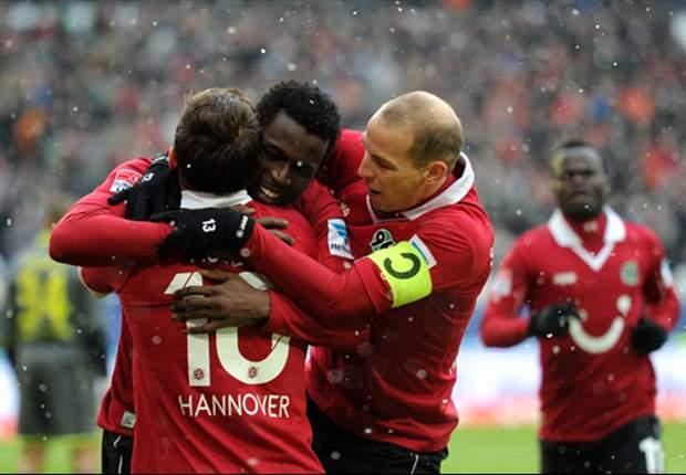 """Hoffenheim besiegt, Anzhi vor der Brust: Hannover spielt """"endlich mal wieder zu Null"""""""