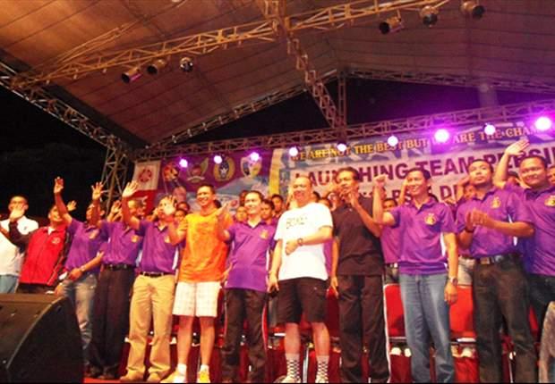 Ribuan Fans Persik Hadiri Launching Klub