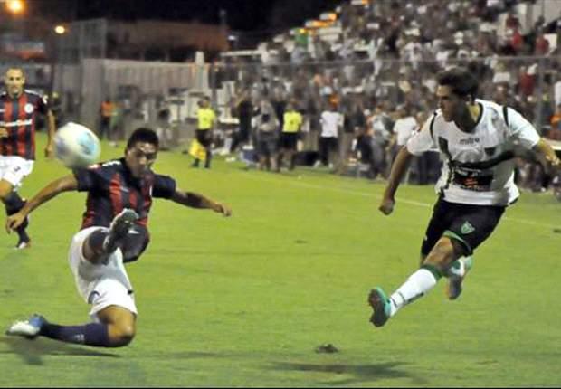 El fútbol se ausentó en San Juan