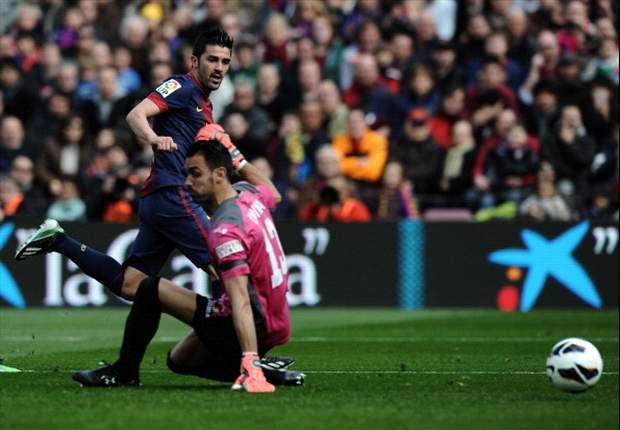 Con un Iniesta de lujo, Barça goleó al Getafe en el mediodía español