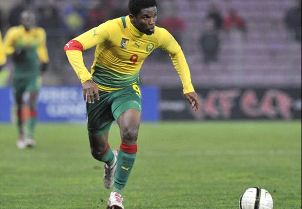 Samuel Eto'o handed Cameroon their winner against Togo in the first leg