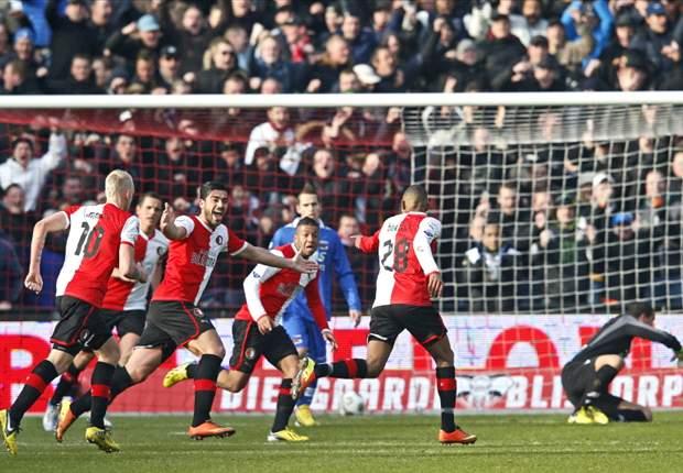 Boëtius uitblinker bij winnend Feyenoord