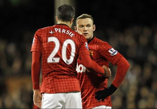 TEAM NEWS: Rooney returns to partner Van Persie in attack for Manchester derby clash